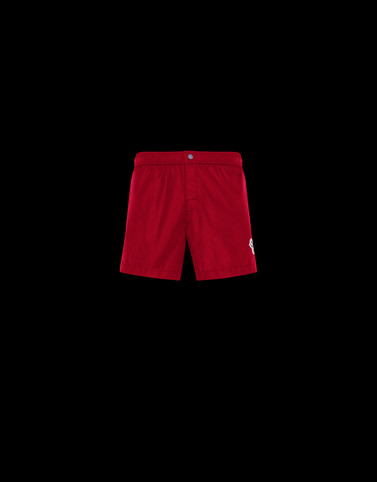SWIM SHORTS Red Swimwear Man