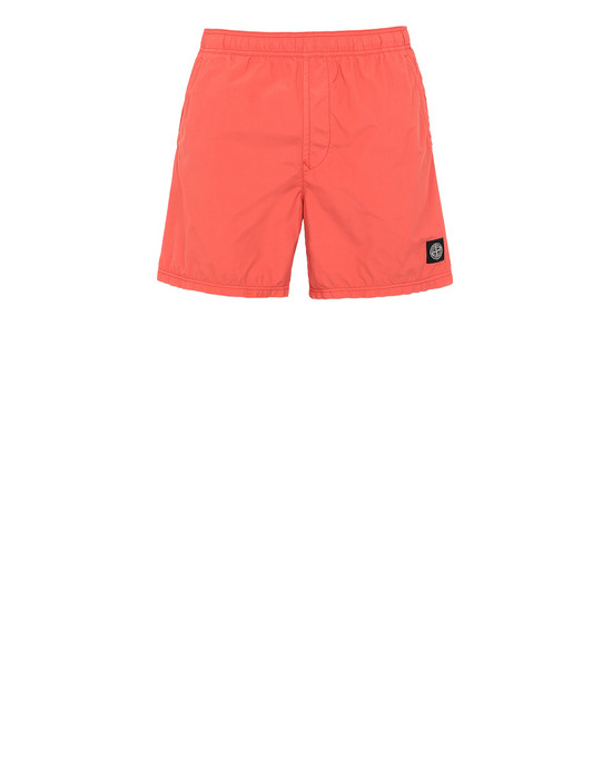 STONE ISLAND B0946 Swimming trunks Man Lobster Red