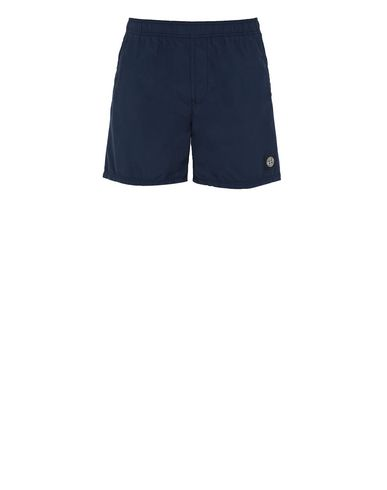 STONE ISLAND B0946 Swimming trunks Man Blue EUR 145