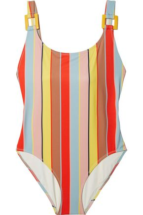 SOLID & STRIPED The Stella striped swimsuit