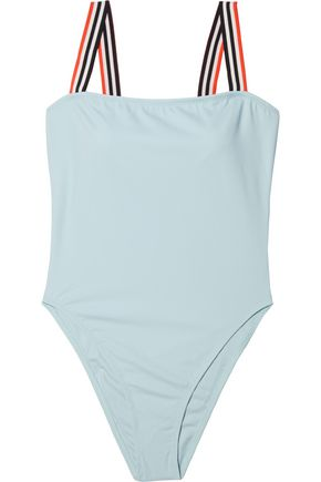 SOLID & STRIPED The Riley striped swimsuit