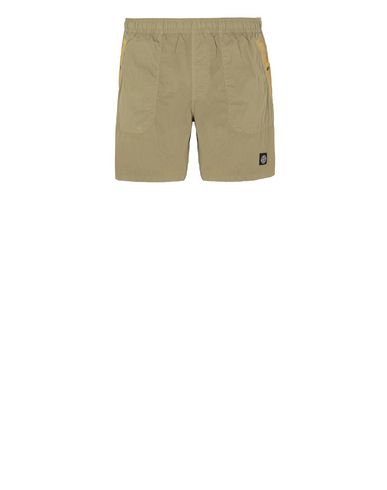 STONE ISLAND B0234 S.I.PA/PL SEERSUCKER-TC  Swimming trunks Man Dark Beige EUR 130