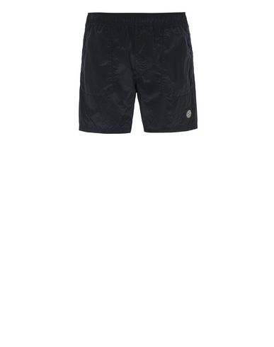 STONE ISLAND B0543 NYLON METAL Swimming trunks Man Blue EUR 128