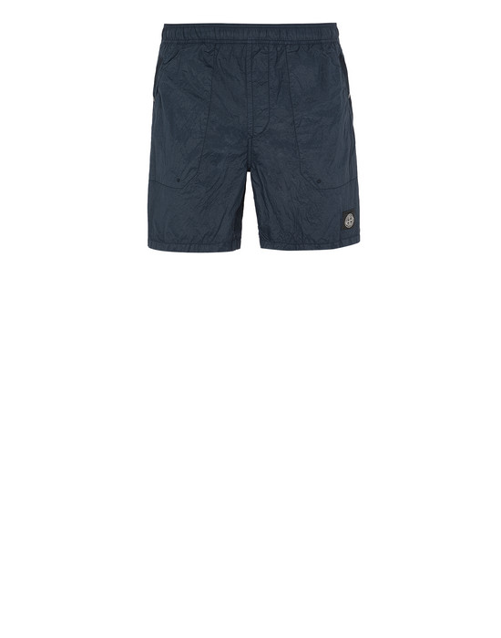 STONE ISLAND B0234 S.I.PA/PL SEERSUCKER-TC  Swimming trunks Man Blue