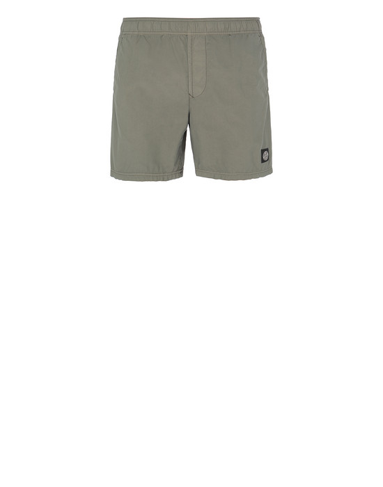 STONE ISLAND B0946 Swimming trunks Man Olive Green
