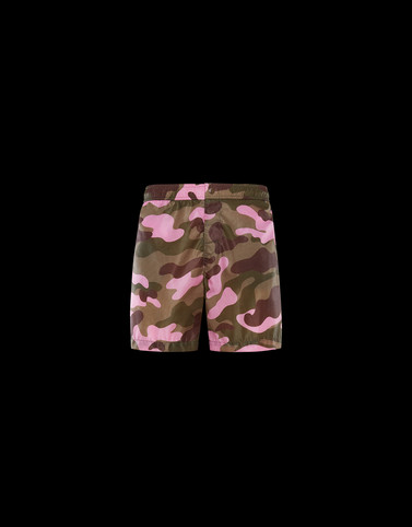 SWIM SHORTS Pink Swimwear Man