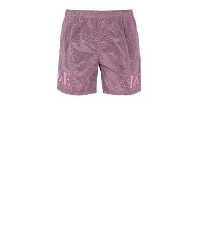 STONE ISLAND B0444 NYLON METAL-FLECK TREATMENT  Swimming trunks Man Pink Quartz USD 295