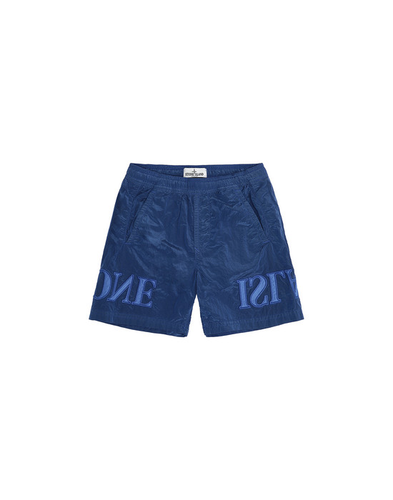 Swimming trunks Man B0313 NYLON METAL Front STONE ISLAND KIDS