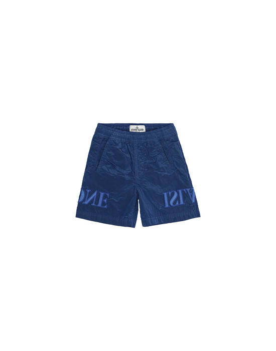 STONE ISLAND JUNIOR B0313 NYLON METAL Swimming trunks Man Periwinkle