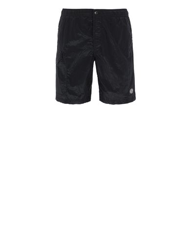 STONE ISLAND B0343 NYLON METAL Swimming trunks Man Black EUR 128