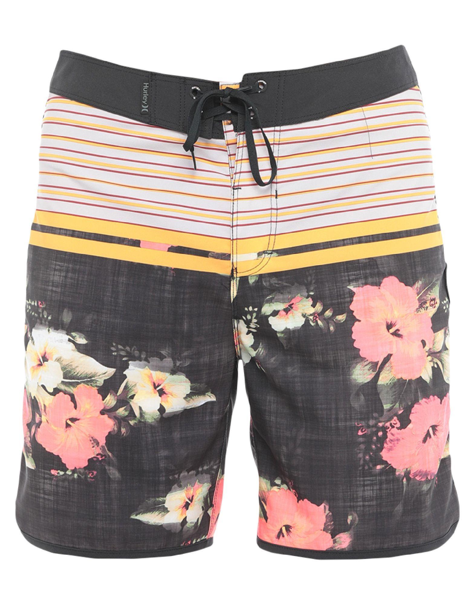 HURLEY Пляжные брюки и шорты versace пляжные брюки и шорты