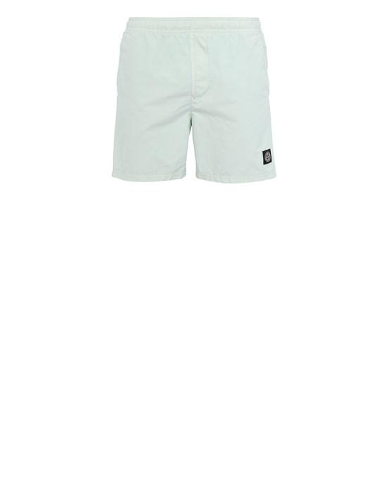 STONE ISLAND B0946 Swimming trunks Man Light Green