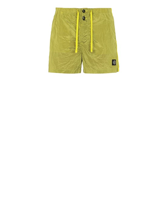 STONE ISLAND B0643 NYLON METAL Swimming trunks Man Pistachio Green
