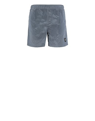STONE ISLAND B0943 NYLON METAL Swimming trunks Man Mid Blue EUR 145