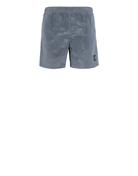 STONE ISLAND B0943 NYLON METAL Swimming trunks Man Mid Blue