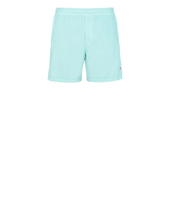 STONE ISLAND B02X5 STONE ISLAND MARINA  Swimming trunks Man Aqua