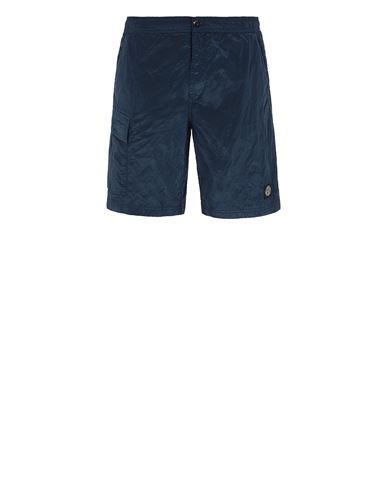 STONE ISLAND B0343 NYLON METAL  Swimming trunks Man Avio Blue EUR 195