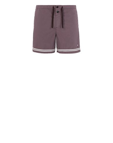 STONE ISLAND B0146 Swimming trunks Man Dark Burgundy USD 214
