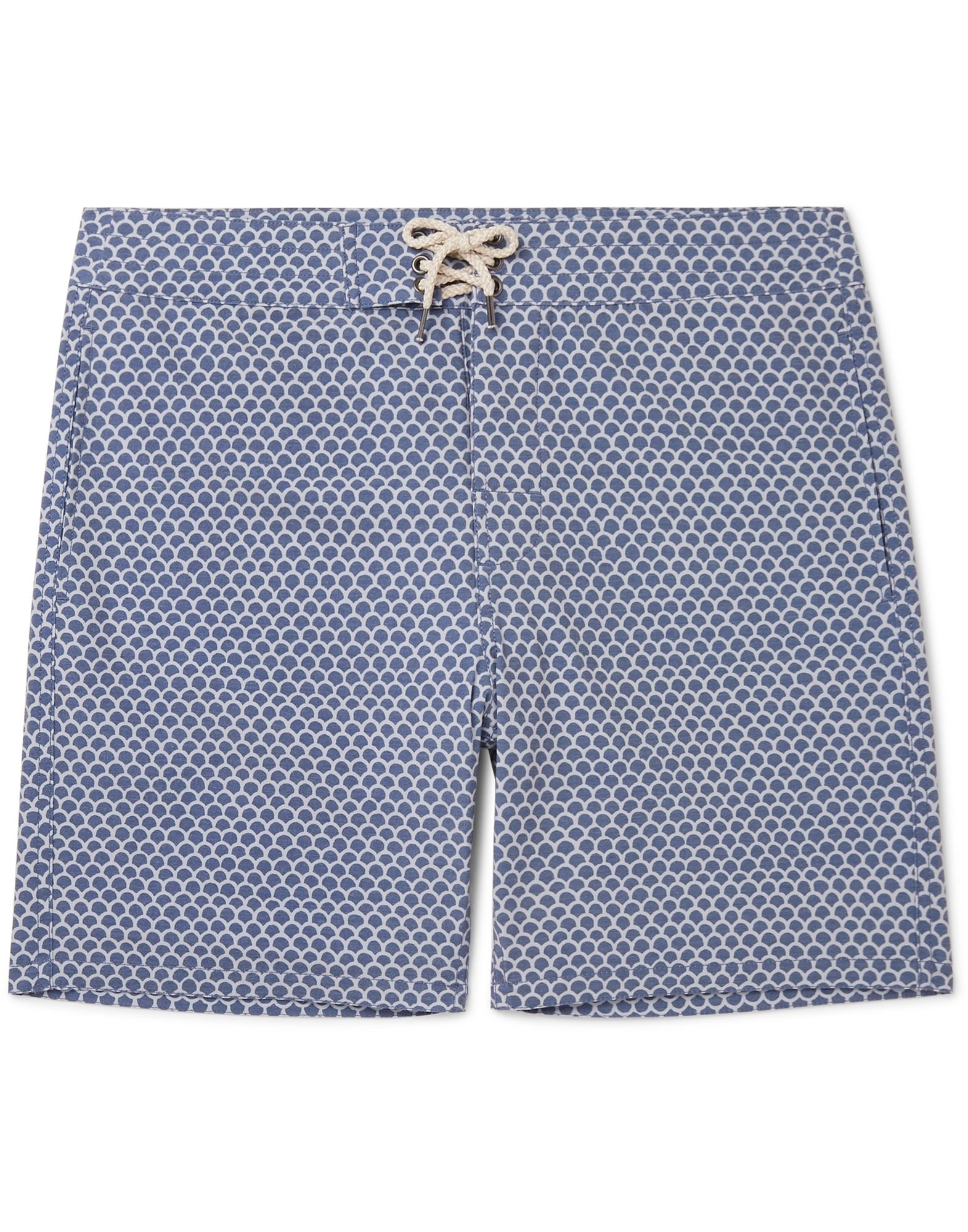 FAHERTY Beach shorts and pants. plain weave, laces, two-tone, front closure, multipockets, self-tie closure, stretch. 80% Recycled polyester, 12% Cotton, 8% Elastane