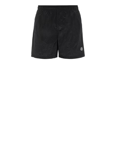 STONE ISLAND B0943 NYLON METAL Swimming trunks Man Black EUR 145