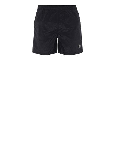 STONE ISLAND B0943 NYLON METAL Swimming trunks Man Blue EUR 110