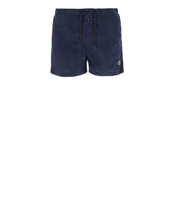 STONE ISLAND B0643 NYLON METAL Swimming trunks Man Avio Blue