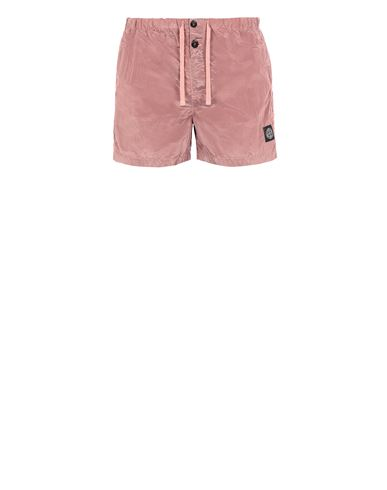 STONE ISLAND B0643 NYLON METAL Swimming trunks Man Pink Quartz USD 143