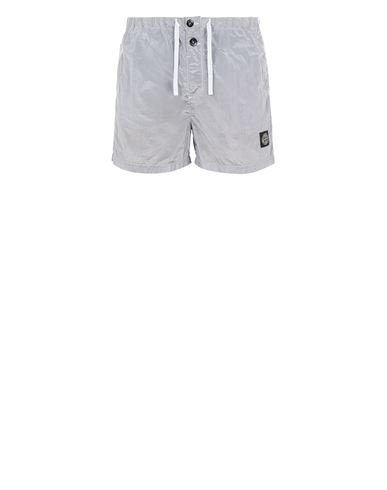 STONE ISLAND B0643 NYLON METAL Swimming trunks Man Sky Blue EUR 145