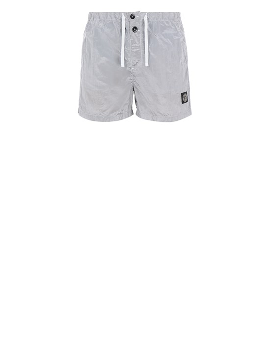 Swimming trunks Man B0643 NYLON METAL Front STONE ISLAND