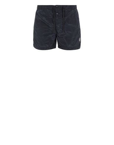 STONE ISLAND B0643 NYLON METAL Swimming trunks Man Blue EUR 145