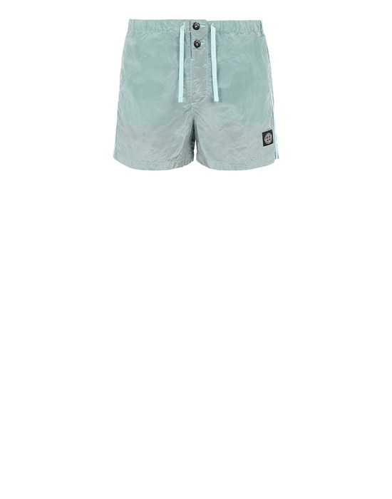 STONE ISLAND B0643 NYLON METAL Swimming trunks Man Aqua