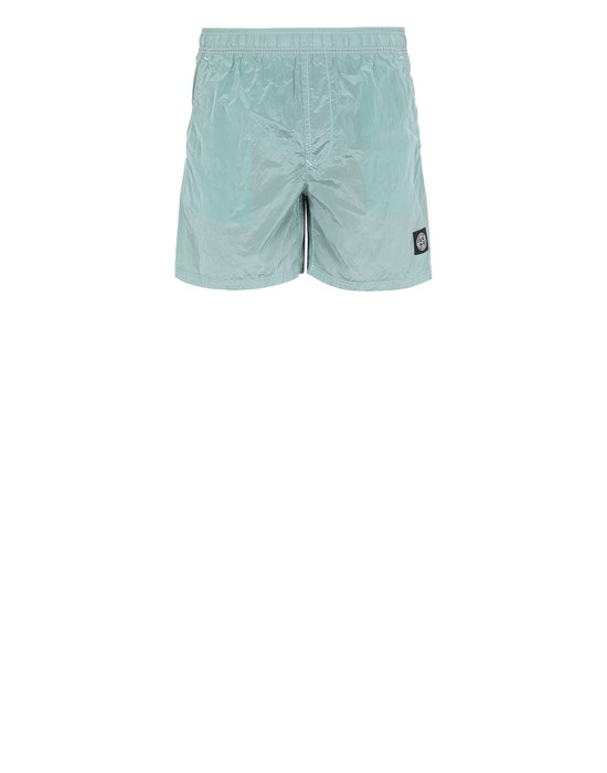Swimming trunks Man B0943 NYLON METAL Front STONE ISLAND