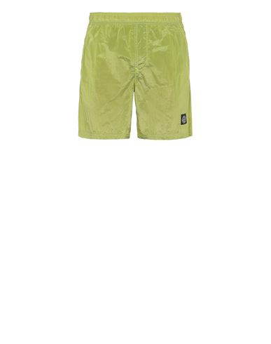 STONE ISLAND B0943 NYLON METAL Swimming trunks Man Pistachio Green USD 214