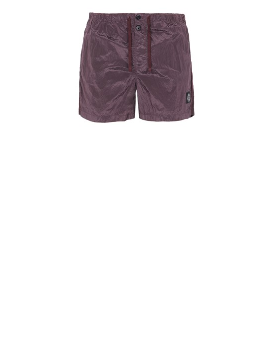 STONE ISLAND B0643 NYLON METAL Swimming trunks Man Dark Burgundy