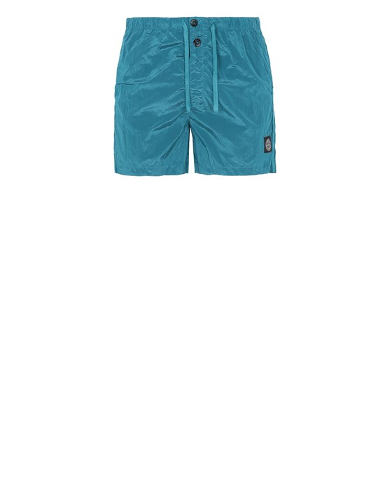 STONE ISLAND B0643 NYLON METAL Swimming trunks Man Turquoise