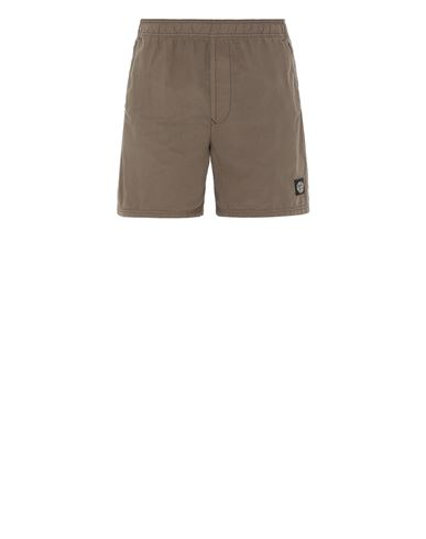 STONE ISLAND B0946 Swimming trunks Man Olive Green EUR 110