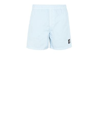 STONE ISLAND B0946 Swimming trunks Man Sky Blue EUR 110