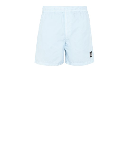 STONE ISLAND B0946 Swimming trunks Man Sky Blue