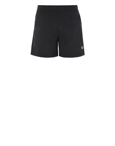 STONE ISLAND B0946 Swimming trunks Man Black USD 150