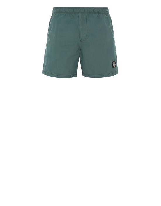 STONE ISLAND B0946 Swimming trunks Man Dark Teal Green