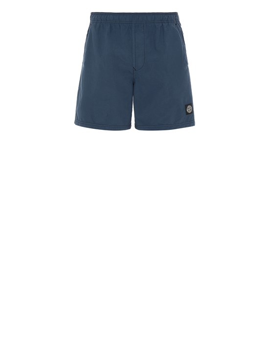 STONE ISLAND B0946 Swimming trunks Man Avio Blue