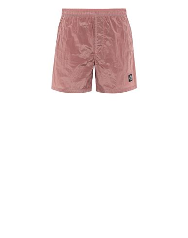 STONE ISLAND B0943 NYLON METAL Swimming trunks Man Pink Quartz EUR 120