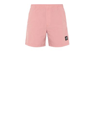 STONE ISLAND B0946 Swimming trunks Man Pink Quartz EUR 145