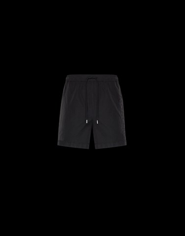SWIM SHORTS Black Swimwear Man