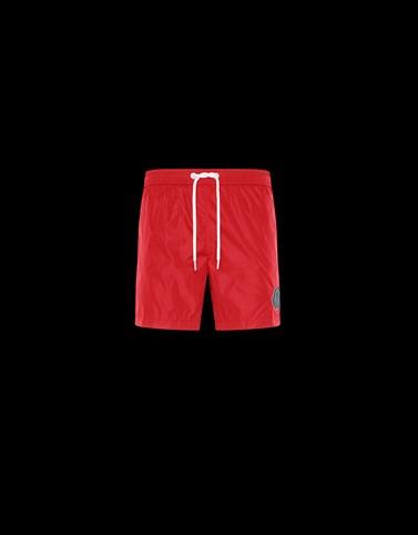 SHORTS MARE Colore Rosso Categoria Boxer da mare Uomo