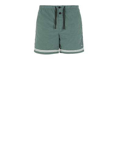 STONE ISLAND B0146 Swimming trunks Man Dark Teal Green EUR 155