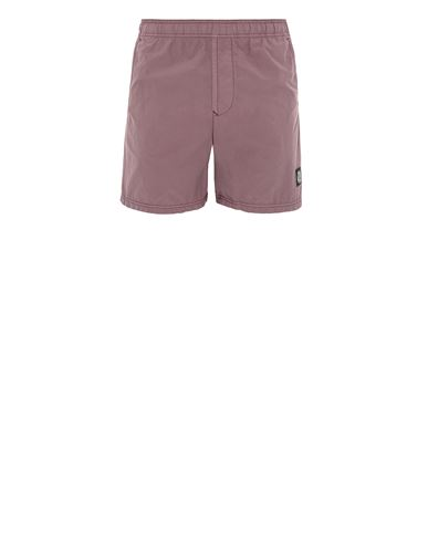 STONE ISLAND B0946 Swimming trunks Man Dark Burgundy USD 167