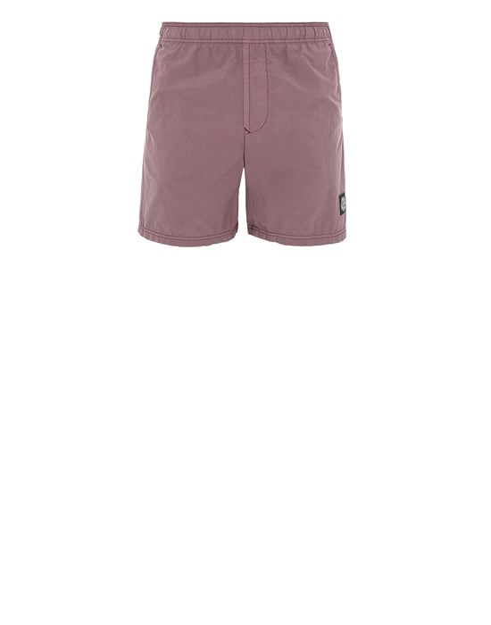 STONE ISLAND B0946 Swimming trunks Man Dark Burgundy