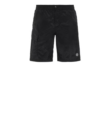 STONE ISLAND B0343 NYLON METAL  Swimming trunks Man Black USD 290