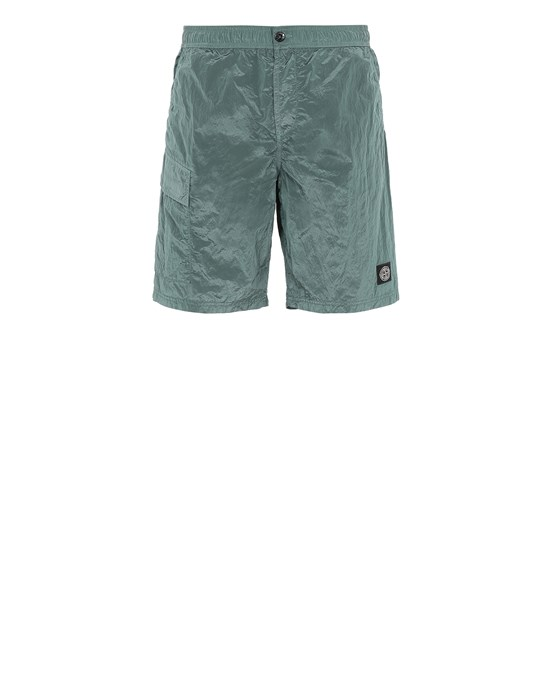 STONE ISLAND B0343 NYLON METAL  Swimming trunks Man Dark Teal Green